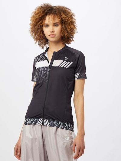 ZIENER Sport-Shirt 'NADERA' in schwarz: Frontalansicht