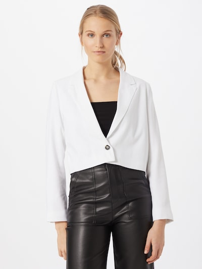 Cotton On Blazer en blanco, Vista del modelo
