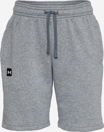UNDER ARMOUR Shorts 'Rival' in Grau