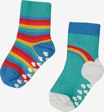 Frugi Socken 'Grippy' in Blau