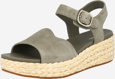 CLARKS Sandale 'Kimmei Way' in dunkelgrün, Produktansicht