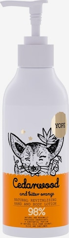 Yope Body Lotion 'Cedarwood & Bitter Orange' in