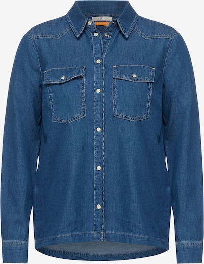 CECIL Bluse in blau, Produktansicht