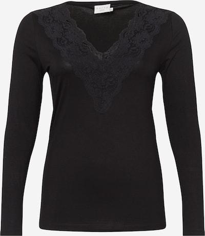 Maglietta 'Clima' KAFFE CURVE di colore nero, Visualizzazione prodotti