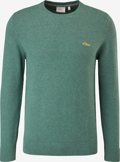 s.Oliver Pullover in mottled green, Item view