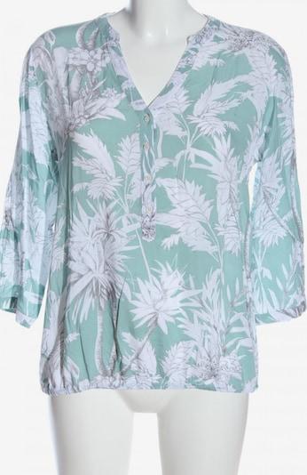 Malvin Langarmhemd in L in grün / weiß, Produktansicht