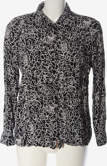 KS. selection Langarmhemd in XL in schwarz / weiß, Produktansicht