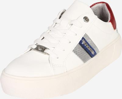 piros / ezüst / fehér Dockers by Gerli Rövid szárú edzőcipők, Termék nézet