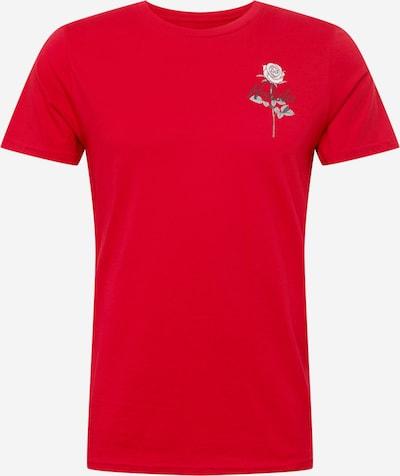 HOLLISTER Majica u crvena / crna / bijela, Pregled proizvoda