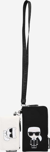Karl Lagerfeld Case in Black / White, Item view