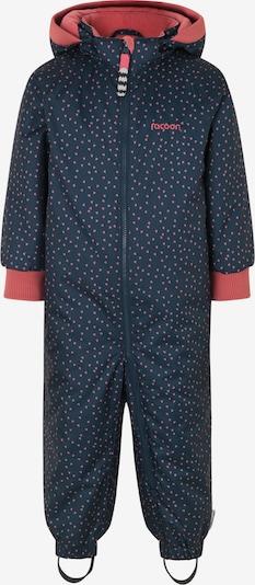 Racoon Outdoor Functioneel pak 'Freja' in de kleur Navy / Pink / Rosé, Productweergave