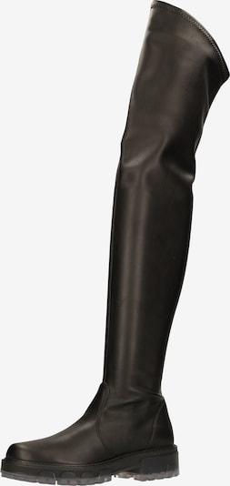 Rapisardi Overknee laarzen in de kleur Zwart, Productweergave