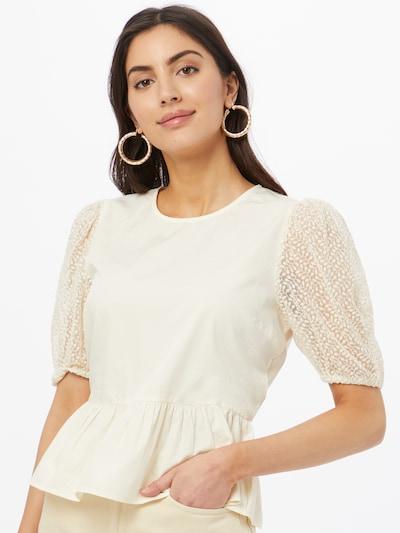 Camicia da donna ONLY di colore crema, Visualizzazione modelli