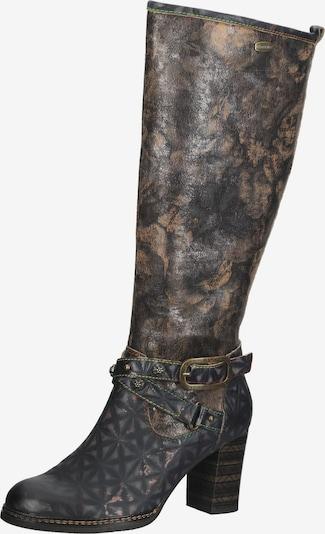 Laura Vita Stiefel in braun / schwarz, Produktansicht