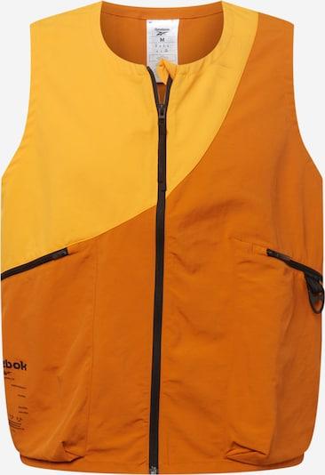 Reebok Sport Gilet de sport en orange clair / orange foncé, Vue avec produit