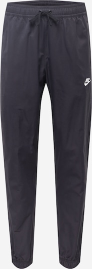 Pantaloni Nike Sportswear pe negru / alb, Vizualizare produs