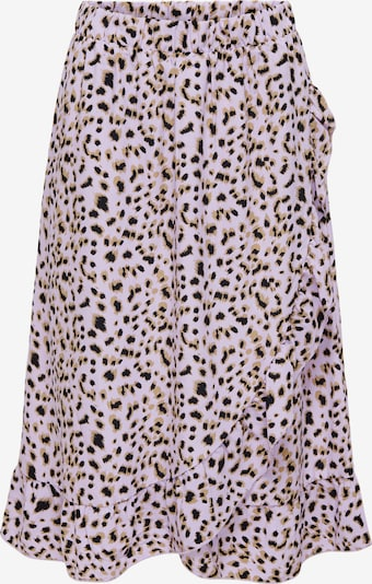 ONLY Suknja 'Anastasia' u svijetlobež / pastelno ljubičasta / crna, Pregled proizvoda