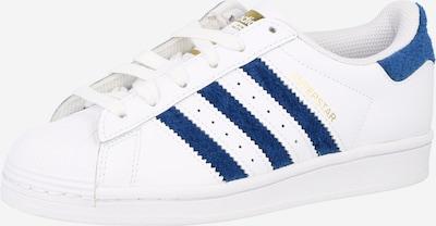 ADIDAS ORIGINALS Baskets 'Superstar' en bleu marine / or / blanc, Vue avec produit