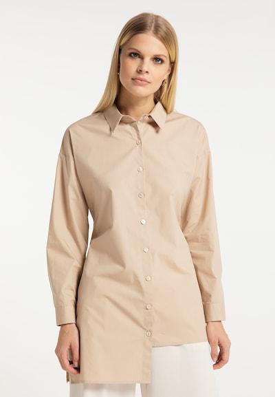 RISA Bluse in beige, Modelansicht