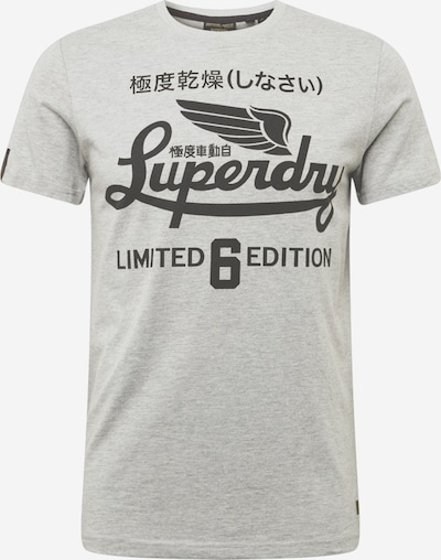 Superdry T-Krekls 'MILITARY' gaiši pelēks / tumši pelēks, Preces skats