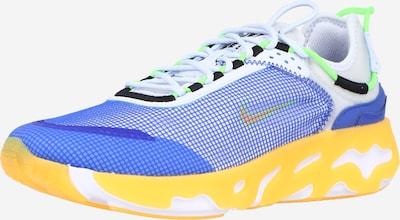 királykék / sáfrány / kiwi / fekete / fehér Nike Sportswear Rövid szárú edzőcipők 'REACT LIVE', Termék nézet