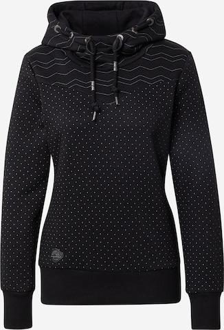 Ragwear Sweatshirt 'Nuggie' i svart