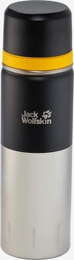 JACK WOLFSKIN Drinkfles in de kleur Geel / Zwart / Zilver, Productweergave