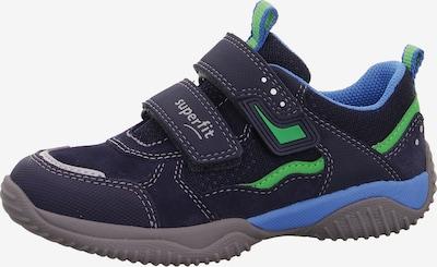 SUPERFIT Halbschuh 'Storm' in blau / grün, Produktansicht