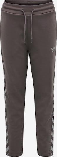 Hummel Sporthose in grau / weiß, Produktansicht