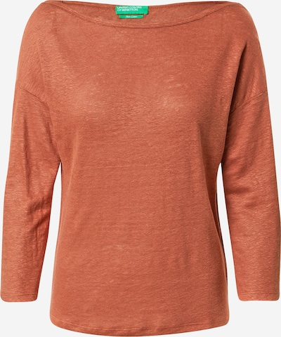 UNITED COLORS OF BENETTON Shirt in rostrot, Produktansicht