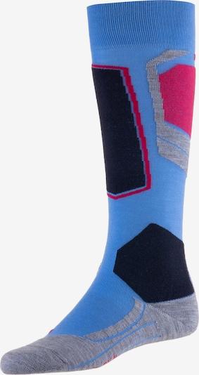 FALKE Socken in blau / grau / pink / schwarz, Produktansicht