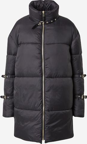 Hoermanseder x About You Winter Coat 'Duffy' in Black