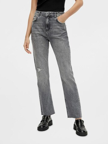 PIECES Jeans in Grijs