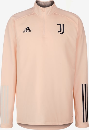 ADIDAS PERFORMANCE Sweat de sport 'Juventus Turin' en poudre / noir, Vue avec produit