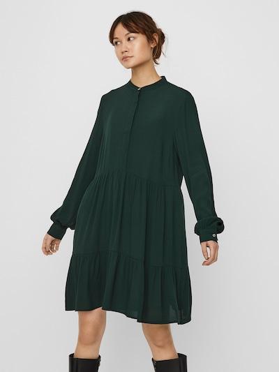 VERO MODA Kleid 'FLY' in dunkelgrün, Modelansicht