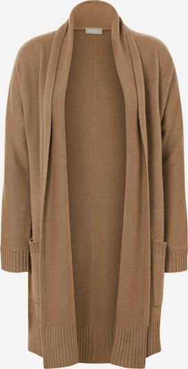 include Gebreid vest in de kleur Bruin, Productweergave