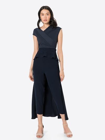 Tuta jumpsuit 'Paloma' Paisie di colore navy, Visualizzazione modelli