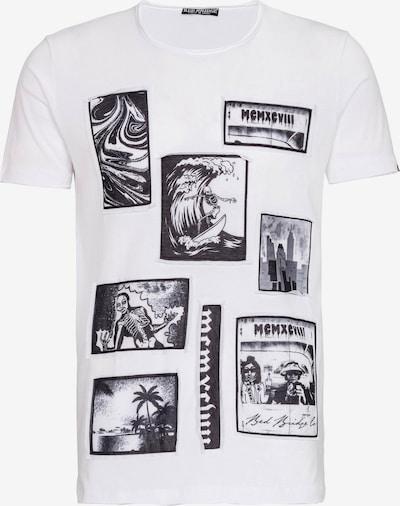 Redbridge T-Shirt Chicago mit Big Prints in weiß, Produktansicht