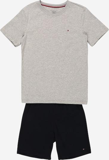 Tommy Hilfiger Underwear Pyjama en bleu nuit / gris chiné, Vue avec produit