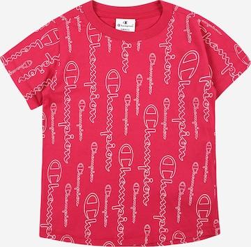 T-Shirt Champion Authentic Athletic Apparel en rouge