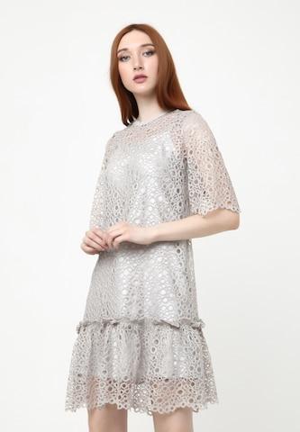 Madam-T Summer Dress 'Fikera' in Grey