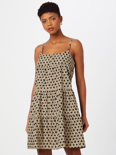 LEVI'S Kleid 'MARA' in sand / schwarz, Modelansicht