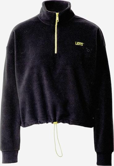 LEVI'S Sweatshirt 'TREKKER' in de kleur Zwart, Productweergave