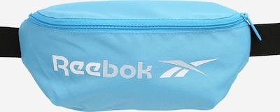 REEBOK Sportgürteltasche in hellblau / weiß, Produktansicht