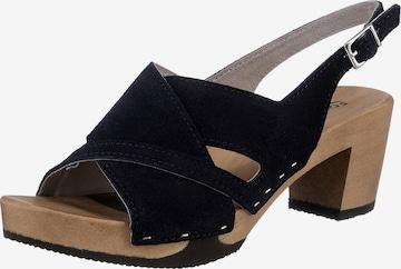 SOFTCLOX Sandale 'Runa' in Blau