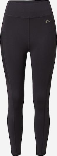 ONLY PLAY Sporthose 'Obia' in schwarz / weiß, Produktansicht