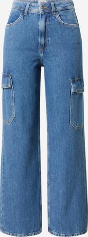 NEW LOOK Klapptaskutega teksapüksid, värv sinine