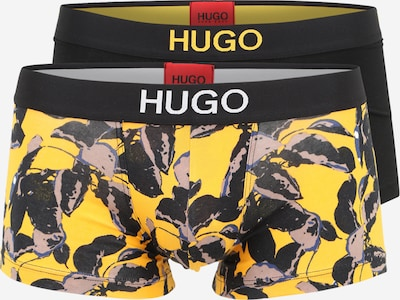 HUGO Boxer shorts in night blue / yellow / taupe / white, Item view
