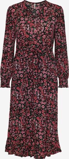 ONLY Kleid 'Pella' in beige / oliv / pitaya / schwarz, Produktansicht