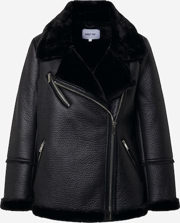 ABOUT YOU Overgangsjakke 'Rose' i svart